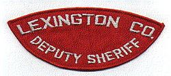 Sheriff: SC. Lexington Co. Deputy Sheriff Patch
