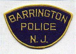 Barrington Police Patch (felt) (NJ)