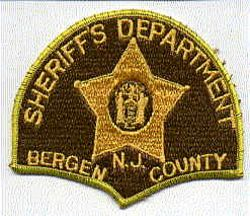 Sheriff: NJ, Bergen Co. Sheriffs Dept. Patch (5 point star)
