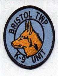 Bristol Twp. K-9 Unit Patch (PA)