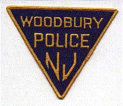 Woodbury Police Patch (triangular) (NJ)
