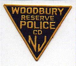 Woodbury Reserve Police Patch-CD (NJ)