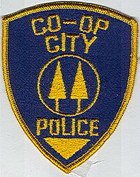 Co-op City Police Patch (blue/gold) (NY)