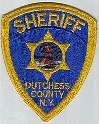 Sheriff: NY, Dutchess Co. Sheriffs Dept. (orange/black insert)