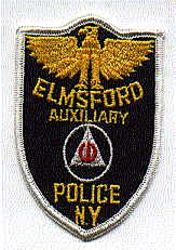 Elmsford Aux. Police Patch (NY)