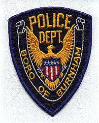 Boro of Burnham Police Patch (blue edge) (PA)