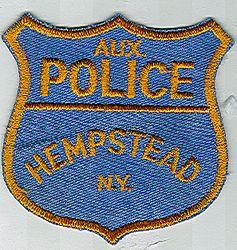 Hempstead Aux. Police Patch (NY)