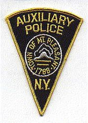 Mt. Pleasant Aux. Police Patch (NY)