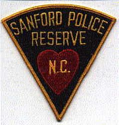 Sanford Reserve Police Patch (NC)