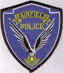 Fairfield Police Patch (CA)