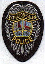 Winston-Salem Police Patch (NC)
