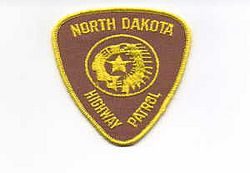 State: ND, Highway Patrol Patch