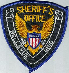 Sheriff: OH, Bellevue Co. Sheriffs Dept. Patch