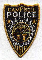 Campbell Police Patch (OH)