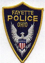 Fayette Police Patch (OH)