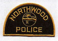 Northwood Police Patch (gold edge) (OH)
