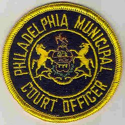 Philadelphia Municipal Court Officer Patch (PA)