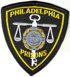 Philadelphia Prisons Patch (plain) (PA)