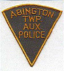 Abington Twp. Aux. Police Patch (PA)