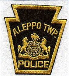Aleppo Twp. Police Patch (keystone) (PA)