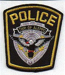 Aleppo Twp. Police Patch (new) (PA)