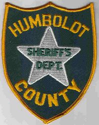 Sheriff: NV, Humboldt Co. Sheriffs Dept. Patch (green)