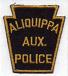 Aliquippa Aux. Police Patch (PA)
