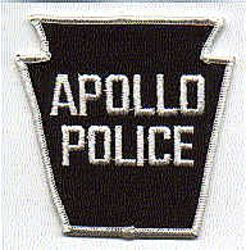 Apollo Police Patch (big letters) (PA)