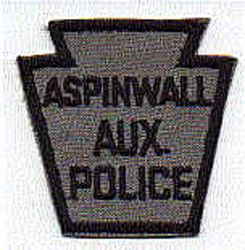Aspinwall Aux. Police Patch (small) (PA)