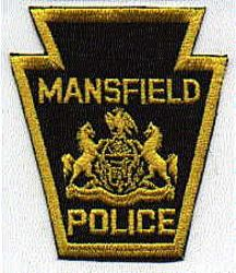 Mansfield Police Patch (PA)