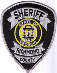 Sheriff: GA, Richmond Co. Sheriff Patch