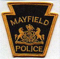 Mayfield Police Patch (PA)