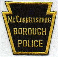 McConnellsburg Borough Police Patch (PA)