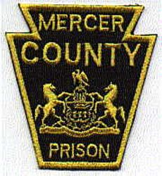 Mercer Co. Prison Patch (PA)