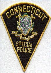 Special Police Patch (black, felt) (CT)