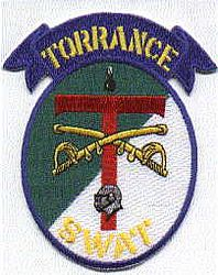 Torrance SWAT Police Patch (CA)