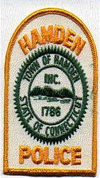 Hamden, Town of Police Patch (CT)