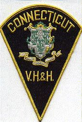 V.H. & H. Police Patch (green) (CT)