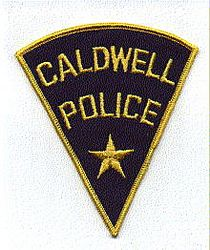 Caldwell Police Patch (ID)