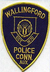 Wallingford Police Aux. Patch (CT)