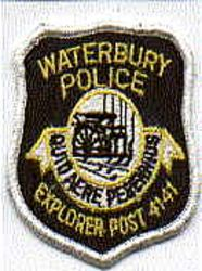 Waterbury Police Explorer Post 4141 Patch (CT)