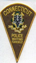 Whiting Forensic Police Patch (CT)