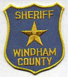 Sheriff: CT, Windham Co. Sheriffs Dept. Patch (old)