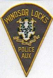 Windsor Locks Police Aux. Patch (tan) (CT)
