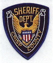 Sheriff: GA, Crisp Co. Sheriffs Dept. Patch