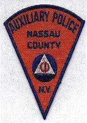 Nassau Co. Aux. Police Patch (CD) (NY)