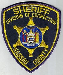 Sheriff: NY, Nassau Co. Sheriffs Div. of Corrections Patch