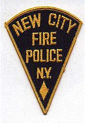 New City Fire Police Patch (NY)