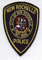 New Rochelle Police Patch (black edge) (NY)
