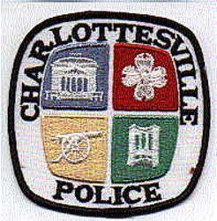 Charlottesville Police Patch (VA)